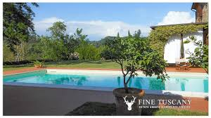 detached house with annexe and swimming pool for sale in tuscany