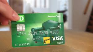 debit card for a debit card with benefits td access card td bank canada
