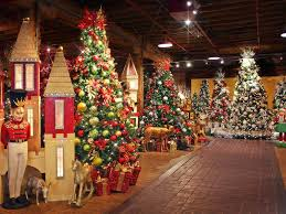 plantscape christmas showroom