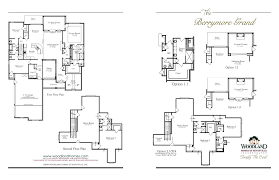 grand floor plans barrymore grand executive new homes in huntsville al