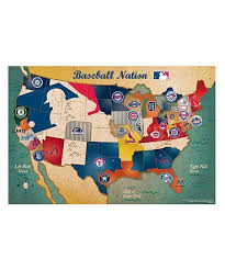 us map puzzle ppw toys mlb usa map puzzle zulily