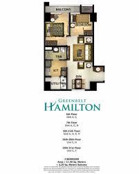 2 bedroom condo floor plans greenbelt hamilton greenbelt hamilton 2 bedroom unit floor plan