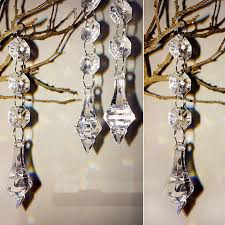 How To Decorate A Chandelier With Beads Online Get Cheap Wedding Decorations Chandelier Aliexpress Com