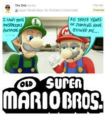 Super Meme - old super mario bros super smash brothers know your meme
