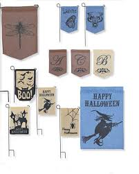 halloween yard flags 50pcs jute burlap garden flags w 12 h 18 inch h liene yard hanging