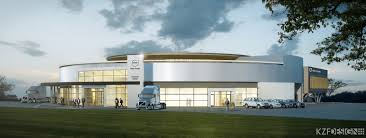 new volvo trucks volvo trucks usa volvo breaks ground on new customer experience center at virginia