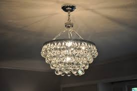 Glass Balls Chandelier Bungalow Blue Interiors Home