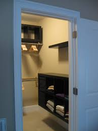 small walk in closet shelving ideas