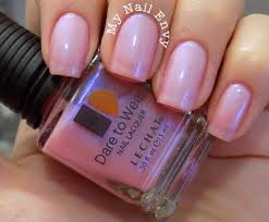 madras u2013 my nail envy lechat dare to wear pink mother of pearl