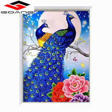 peacock diamond painting 3d promotion shop for promotional peacock