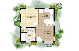 House Plans With Guest House by 400 Square Foot Tiny House Floor Plans 400 House Plans Designs