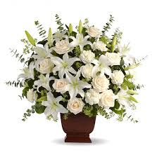 roses bouquet loving lilies roses bouquet funeral flowers a classic
