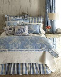 blue and white french country bedding 11933