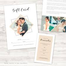Js Prom Invitation Card Designs Blush Wedding Photography Marketing Set