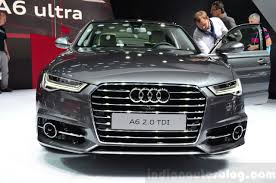 audi a6 price audi a6 facelift face at the 2014 paris motor show indian autos blog