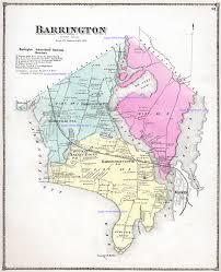 Map Of Ri Rhode Island 1870 Beers Atlas