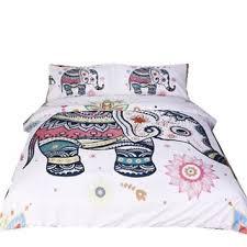 Elephant Print Comforter Set Best Bohemian Elephant Bedding Products On Wanelo