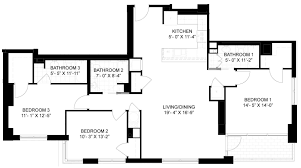 100 3 bedroom 3 bath floor plans the villas in old palm