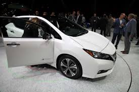nissan minivan 2018 android auto welcome the 2018 nissan leaf to the family