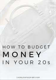 Money Spreadsheet The Ultimate Guide To Budgeting Money In Your Twenties The