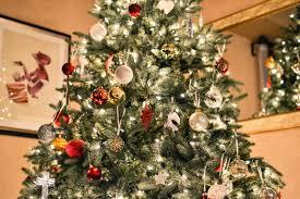 free stock photo of tree with many ornaments
