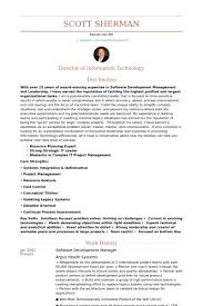 Director Resume Examples by Software Development Manager Resume Samples Visualcv Resume