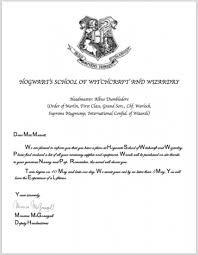 harry potter hogwarts acceptance letter printable format