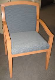 used paoli wood frame guest chair broadway office