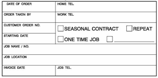 Landscaping Invoice Template by Landscaping Invoice Form Designing