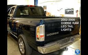 2004 silverado led tail lights 10 dodge ram 02 03 04 05 06 led tail lights installation dash z