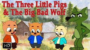 the three little pigs and big bad wolf hd animated fairy tales