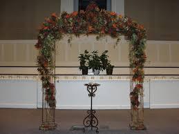 simply elegant weddings wrought iron columns