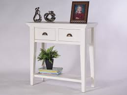 white console table with drawers lima antique white console table with two drawers oakea