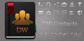 dialer apk dw contacts phone dialer 3 0 6 1 pro apk apkmos