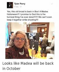 Tyler Perry Memes - tyler perry is looking at these black panther numbers like madea