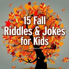 15 fall riddles and jokes for speech therapy activities and