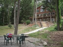 windward lodge large lakefront u0026 ski homeaway hawley