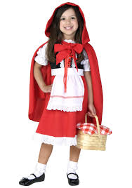 willy wonka halloween costumes deluxe child little red riding hood costume red riding hood