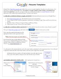 Best Looking Resumes by Neoteric Ideas Google Resume 13 Use Google Docs Resume Templates