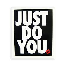 just do you vinyl sticker decal by aireal apparel 1 00 aireal