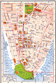 map of new york city with tourist attractions map of new york city attractions printable major ripping