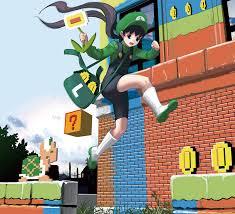 luigi super mario bros zerochan anime image board