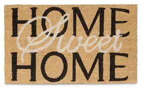 Buy Artsy Doormats Wipe Your Relaxdays Home Sweet Home Doormat U0026 Reviews Wayfair Co Uk