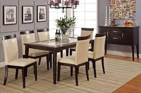 espresso dining room set marble top dining table espresso interior and exterior design trends
