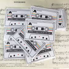 wedding song request cards wedding song request cards cassette mixtape inspired design