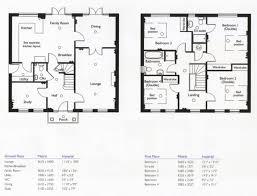 2 story house floor plan uncategorized 2 story 4 bedroom house floor plan striking for