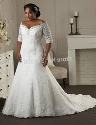 plus size wedding dresses with sleeves or jackets plus size lace wedding dress with sleeves pluslook eu collection