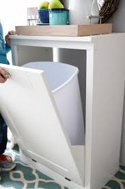 inspiring trash can cabinet plans and best 25 trash can cabinet