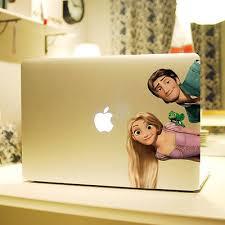 anime tangled rapunzel princess flynn vinyl decal laptop skin