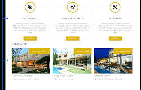 Commercial Real Estate Lease Template by Crimea Joomla Real Estate Template
